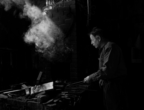William Throwbridge, the blacksmith