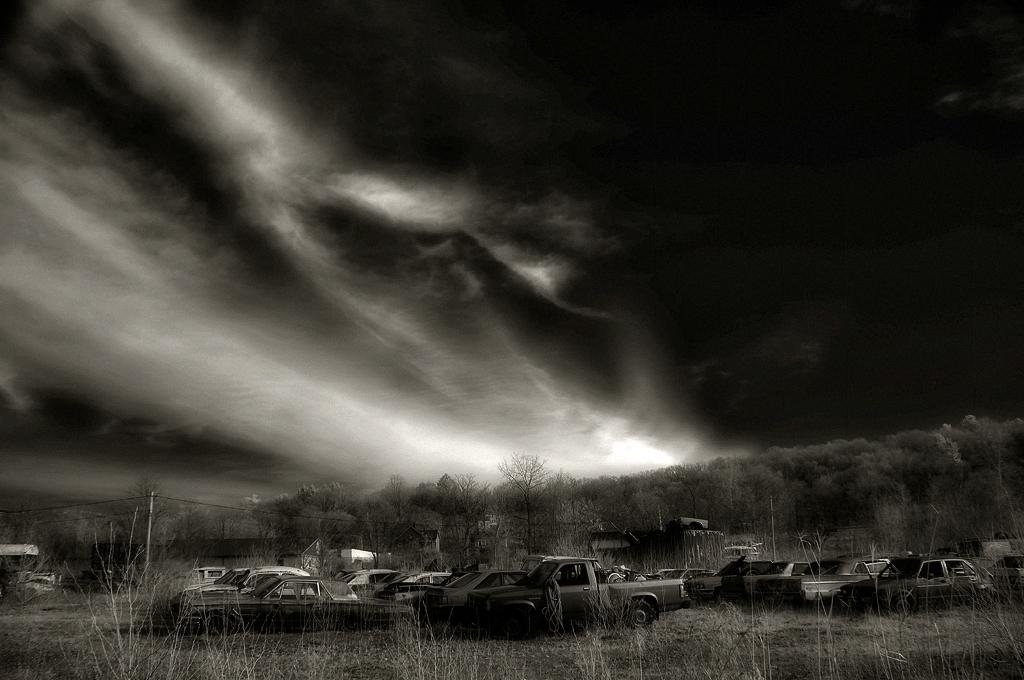 Night at the junkyard